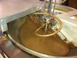 Chocolate machine at Wilbur's.