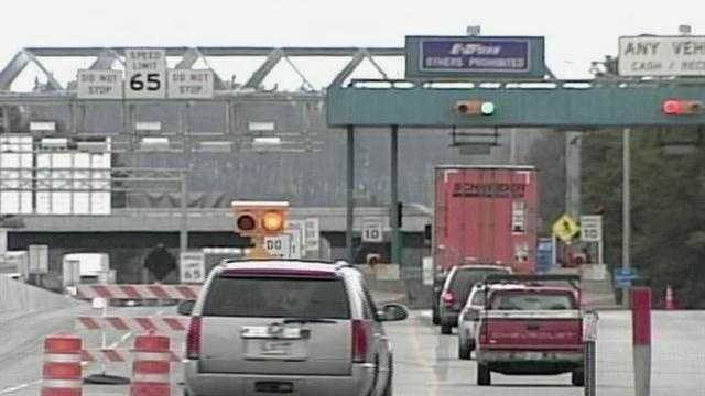 A big change to the tolls along the Maine Turnpike. The New Gloucester toll plaza's high speed tolling lanes are open for business. News 8's Norm Karkos takes a closer look.