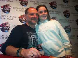 """Fans of the show """"Survivorman"""" also had a chance to meet Les"""