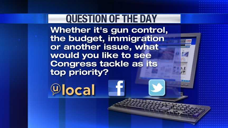 Question of the Day 4-8-13
