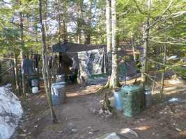 Christopher Knight, 47, had been living alone in the central Maine woods for the past 27 years.