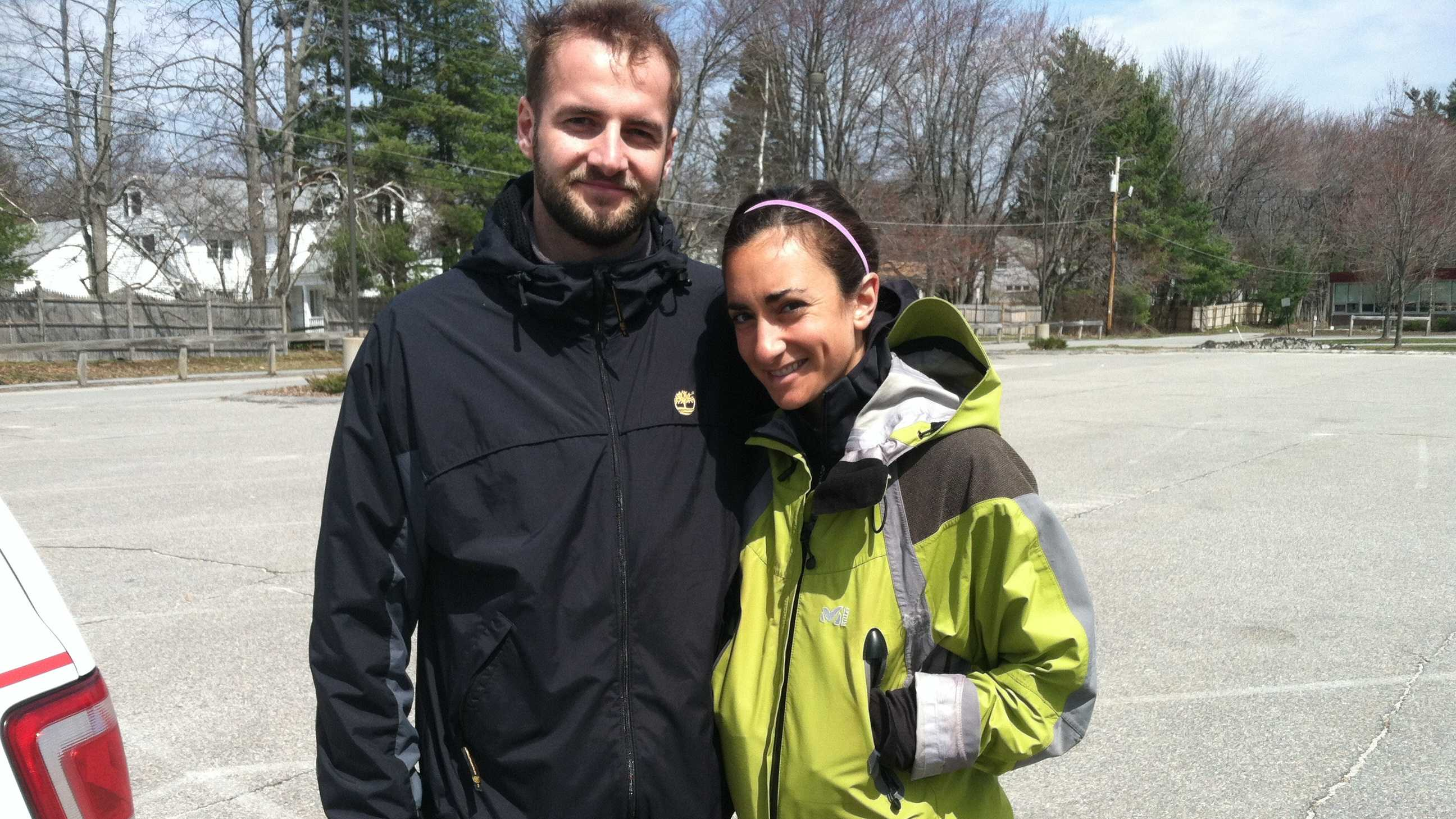 Alex Kreher and Zoe Romano