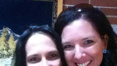 Michelle L'Heureux (right), Danielle L'Heureux (left)