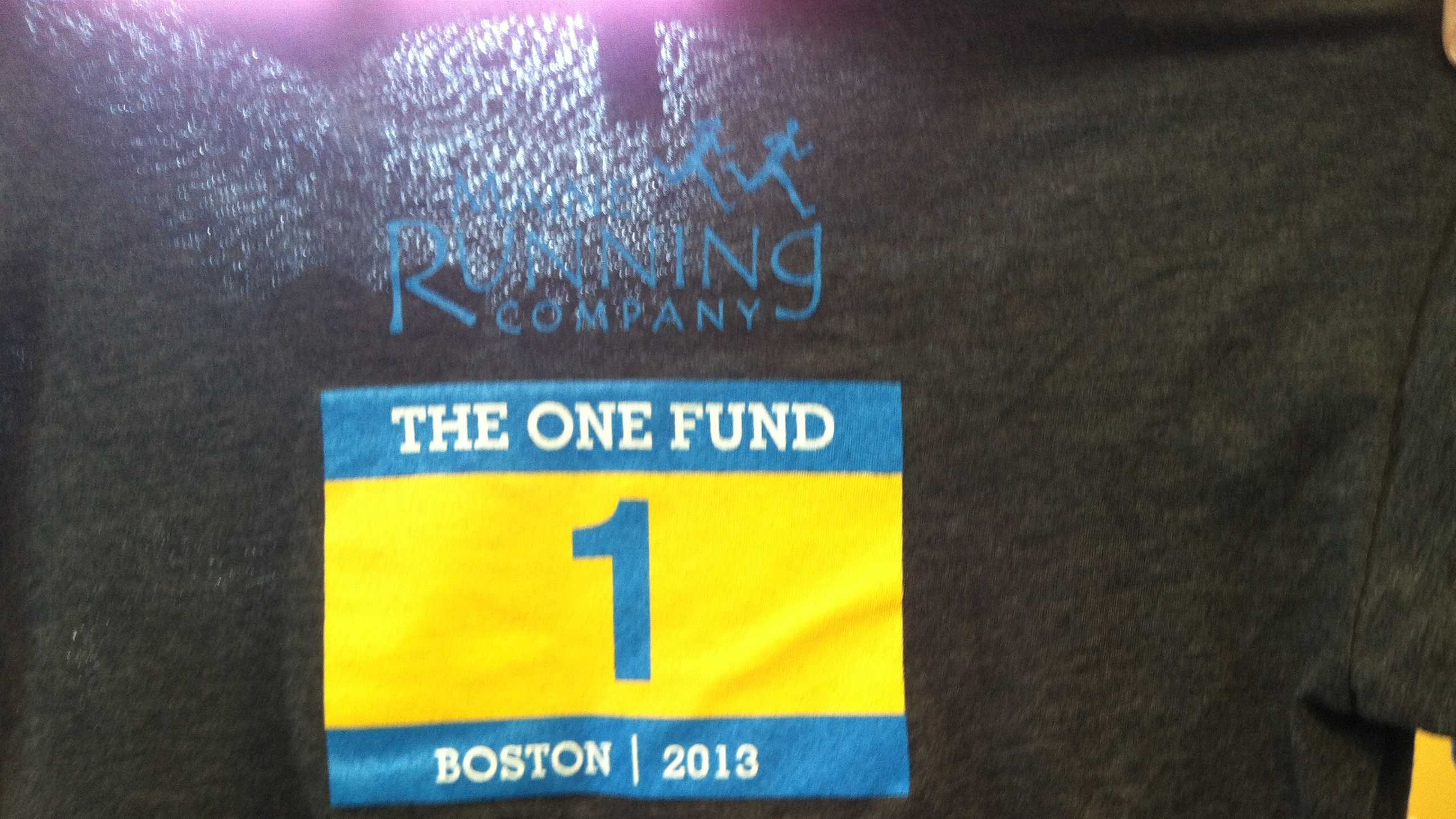 Run for Boston T Shirt