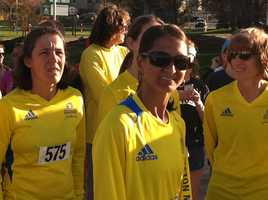 Hundreds of Mainers took part in the One Fund Boston 5K Run/Walk in Portland Monday evening to benefit victims of the Boston Marathon bombings.