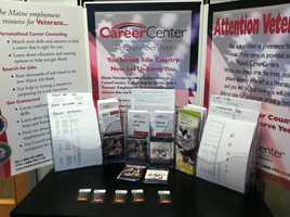 Wilton Career Center held a job fair on Thursday geared toward veterans but was open to the public.
