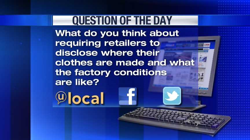 Question of the Day 5-16-13