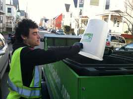On the day WMTW News 8 followed the Garbage to Garden crew, the collected 3,000 pounds of food waste.