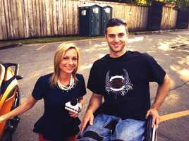 WMTW News 8's Katie Thompson with Chris Collin. Chris continues to ride on his modified Can-Am Spyder and rode in today's benefit!