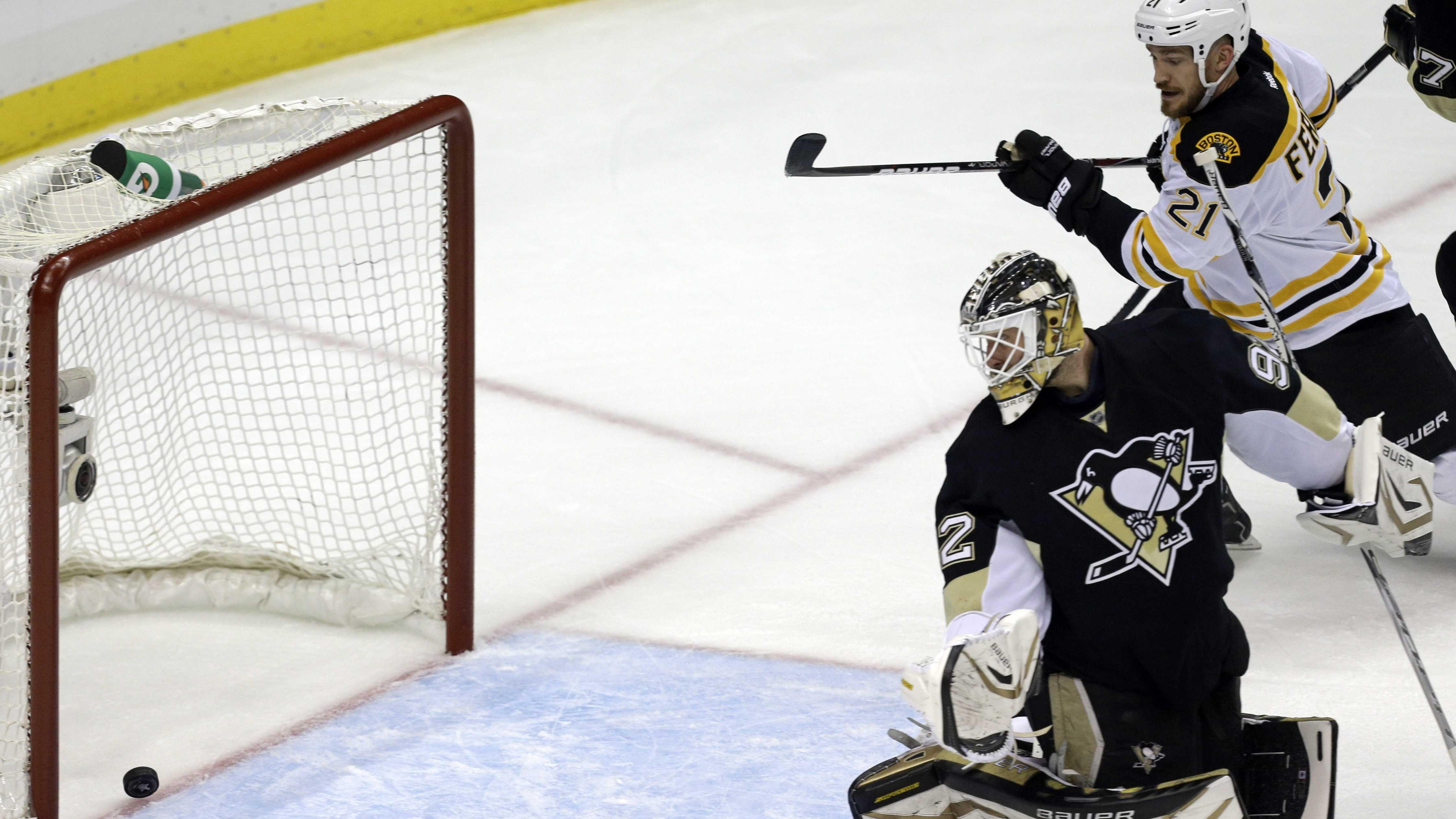 Krejci scores vs Penguins 060113