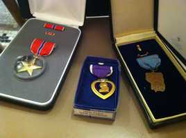 A former prisoner of war from World War II received special recognition on Friday in Augusta.