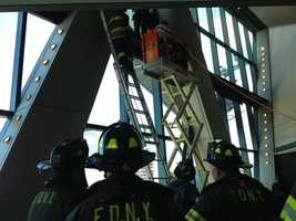The rescue underway.
