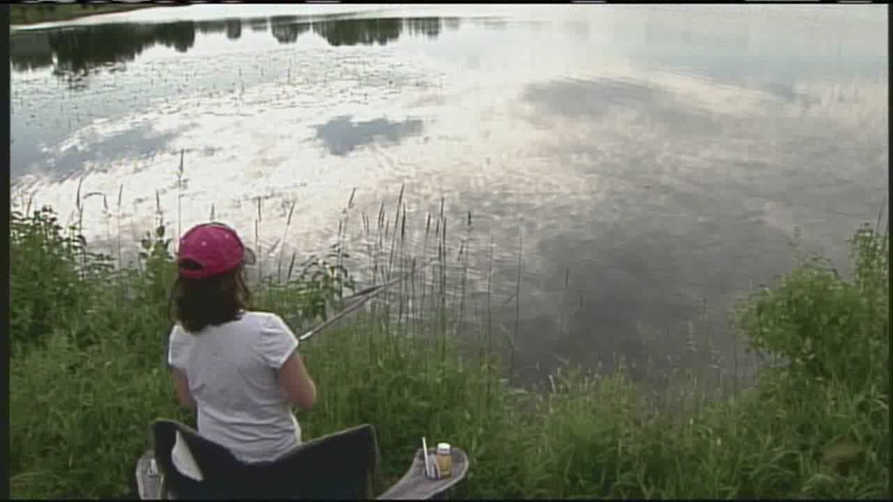On Father's Day, many dads were treated to a great day.  For some, that included casting a line, flying a remote controled aircraft---or even both. WMTW News 8's Norm Karkos takes a closer look from the Father's Day Fish off from Sanford.