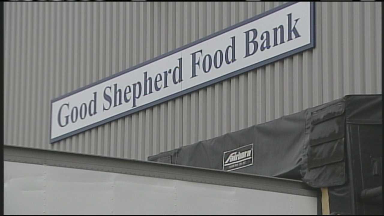 Good Shepherd Food Bank Biddeford center up and running
