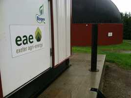 """""""We've produced about 8.25 million kilowatt hours since we started operation,"""" said John Wintle with Exeter Agri-energy."""