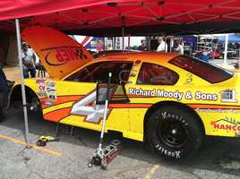 Drivers preparing for the Oxford 250 this weekend at the Oxford Plains Speedway are sweating it out in the extreme heat.