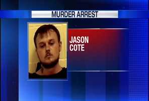 Jason Cote is charged with murder