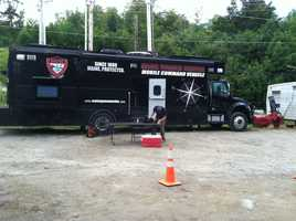 The Maine Warden Service held a news conference on Sunday, Aug. 4, to provide an update on the search.