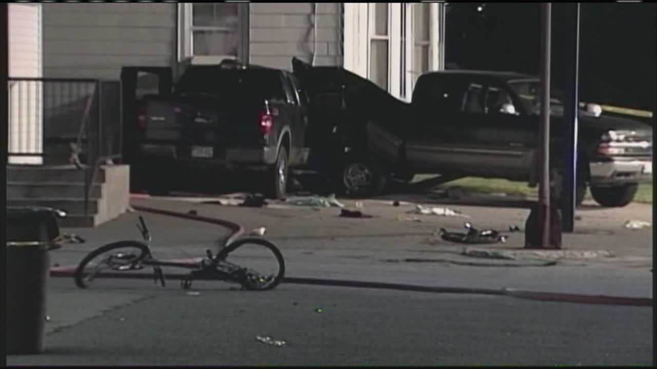 Witness reacts to crash that critically injured father, son