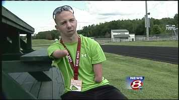 Undaunted, Kennison won the bronze in the 100-meter dash at the International Paralympic World Championships.