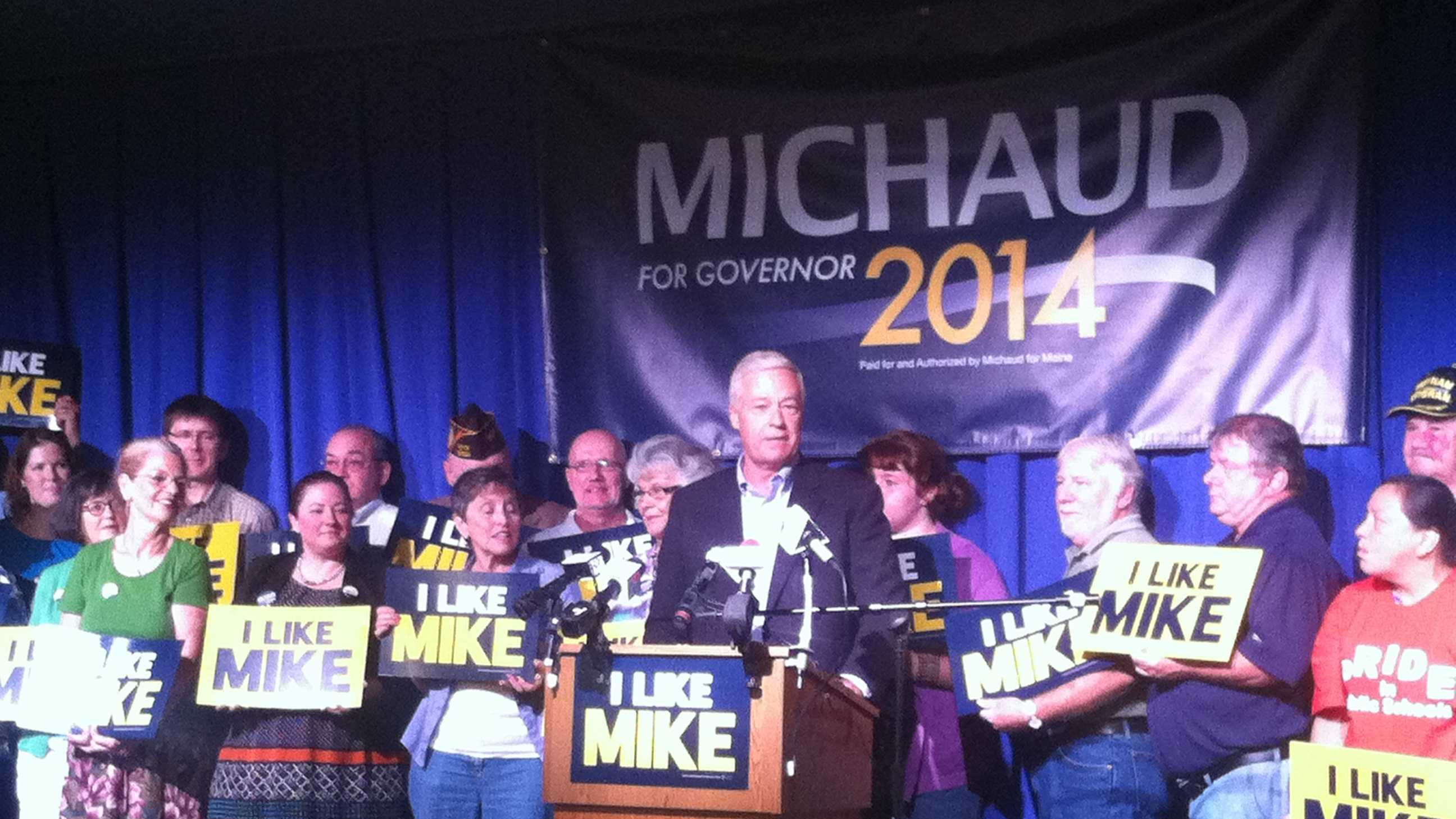 Mike Michaud announces gubernatorial run