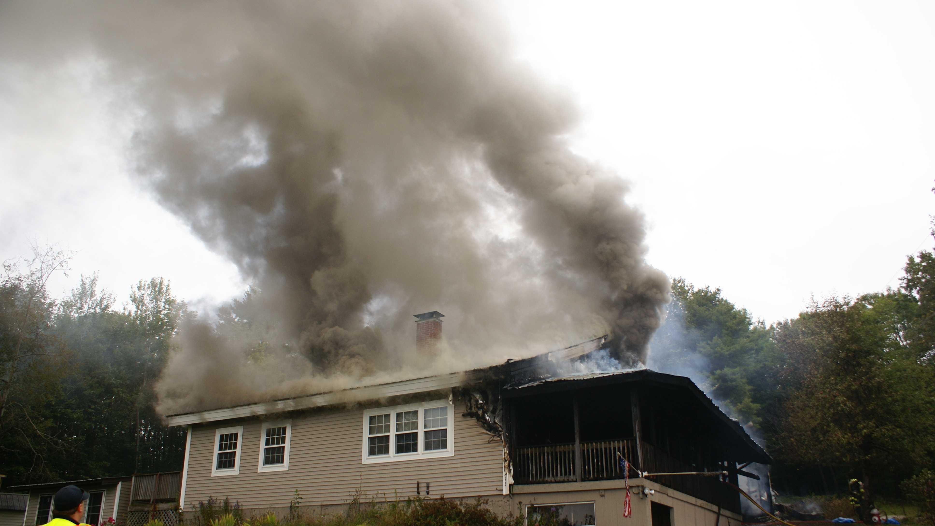 Paris house fire