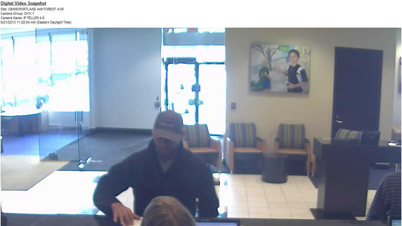 Portland Bank Robbery
