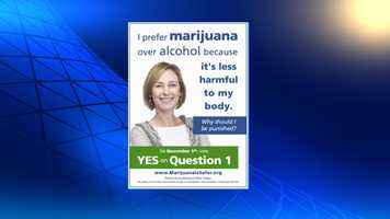 A group supporting the legalization of recreational marijuana in Portland is putting ads on buses and bus shelters to promote the effort.