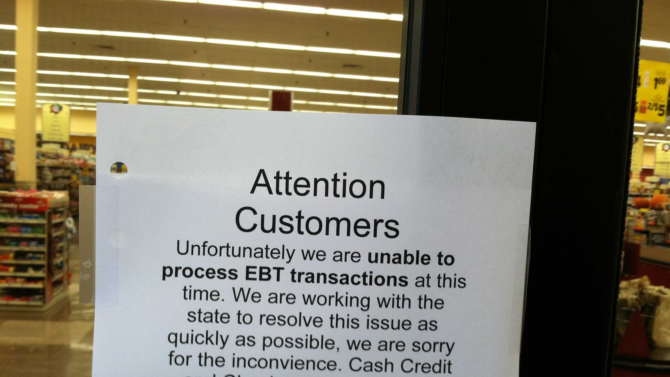 EBT card issue