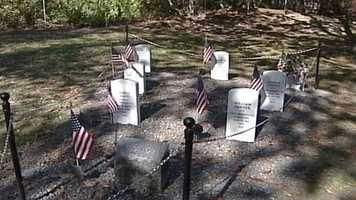 Last year, seven veterans who are buried at the Grand Trunk Cemetery were memorialized, including Col. Edmund Phinney, who served in the Revolutionary War, and Samuel Blake, who served in the War of 1812.