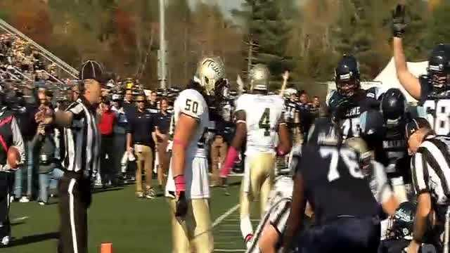 The Black Bears sit atop the CAA after beating William & Mary 34-20.