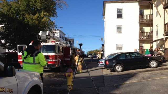 Suspected meth lab sparks West Side apartment fire
