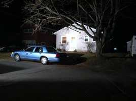 December 19, 2011: State Police tow 2 vehicles from the Waterville home of Ayla's father Justin DiPietro.