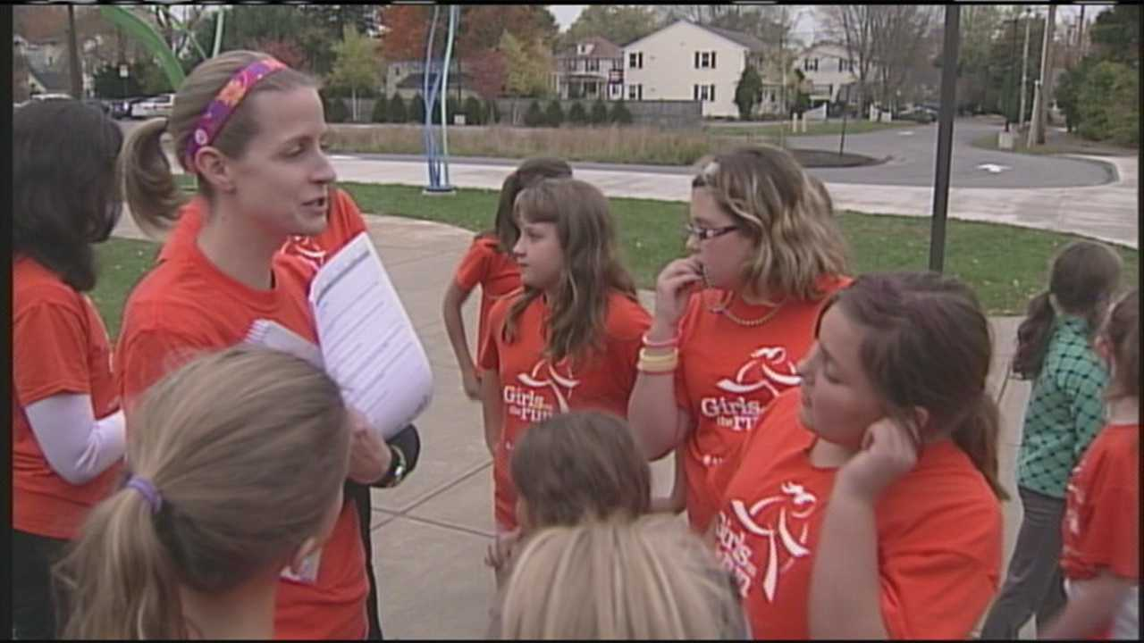 Girls on the Run Program helping students at Ocean Avenue Elementary School