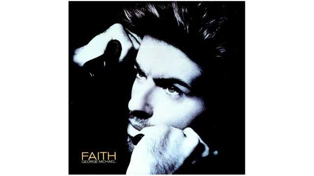 George Michael, Faith single cover