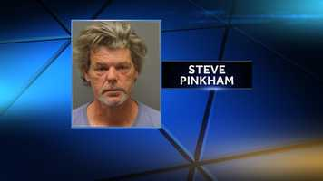 Steve Pinkham is charged with robbery