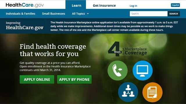 HealthCare.gov maintenance