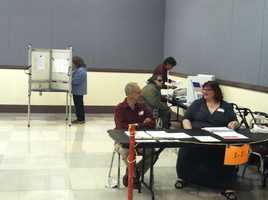 Voters will decide city council and school committee races.