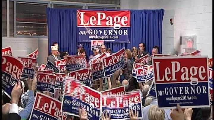 img-Raw Video Gov LePage announces re-election bid