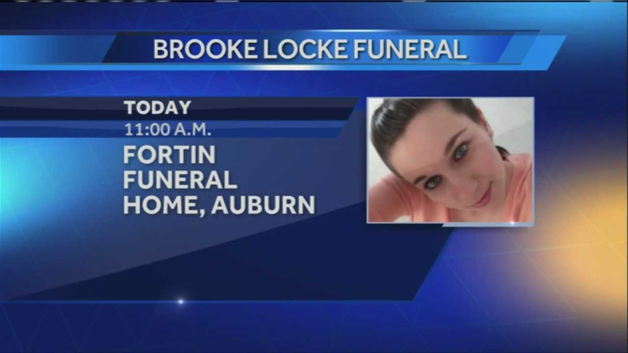 Funeral for Brooke Locke scheduled for today
