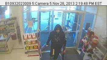 Bridgton Rite Aid Robber Surveillance