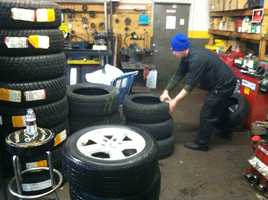 Experts say having winter tires makes a difference because all-season tires don't perform well when the temperature drops below 45 degrees.