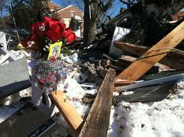 An explosion at a townhouse in Bath on Feb. 12 killed one woman and injured four others. Click here to view pictures from the scene.