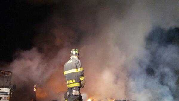 Fire destroys Auburn church