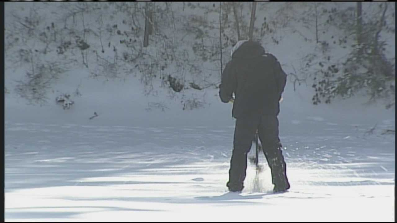 Ice fishers get an early start of the season