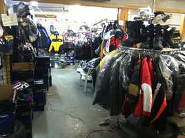 Business is booming for snowmobile shops after the recent onslaught of winter weather.