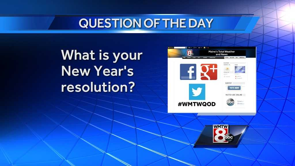 question of the day 1/1/13