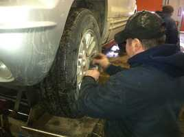 Mechanics recommend making sure your car is up to operating temperature before driving in the extreme cold.