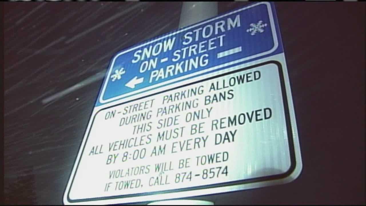 Portland parking ban