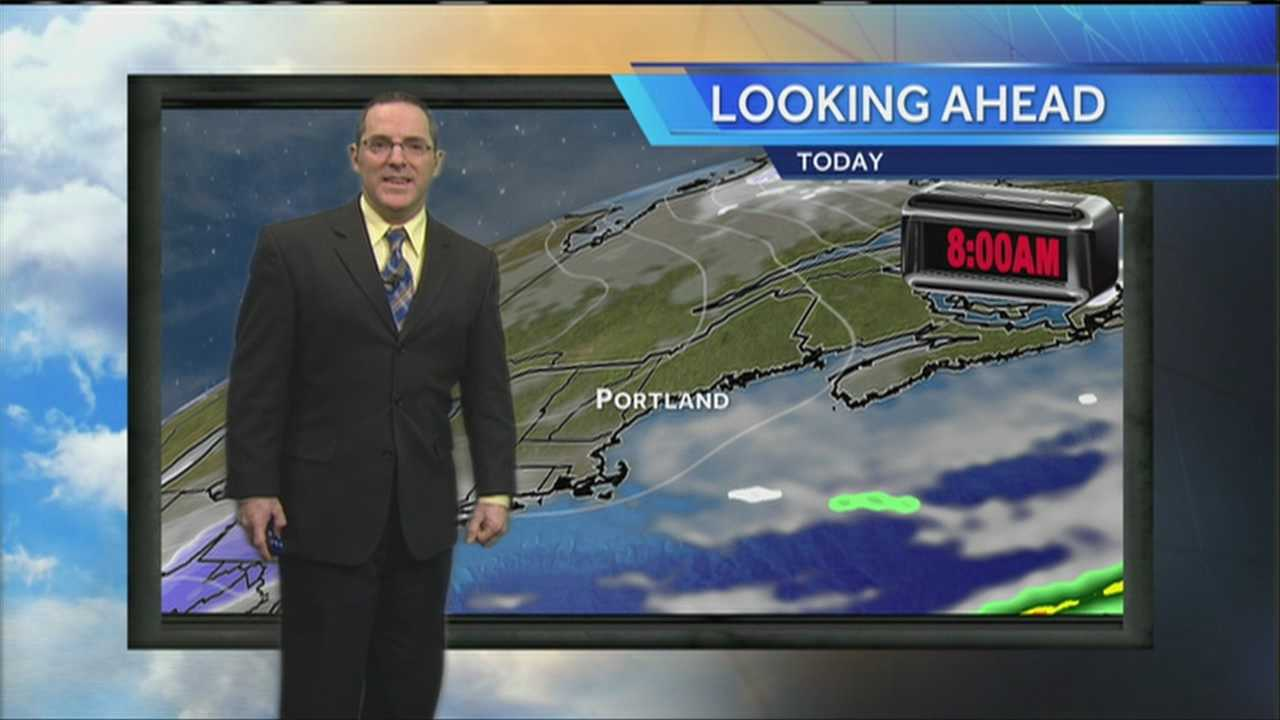 Matt's Tuesday Morning Weather Forecast
